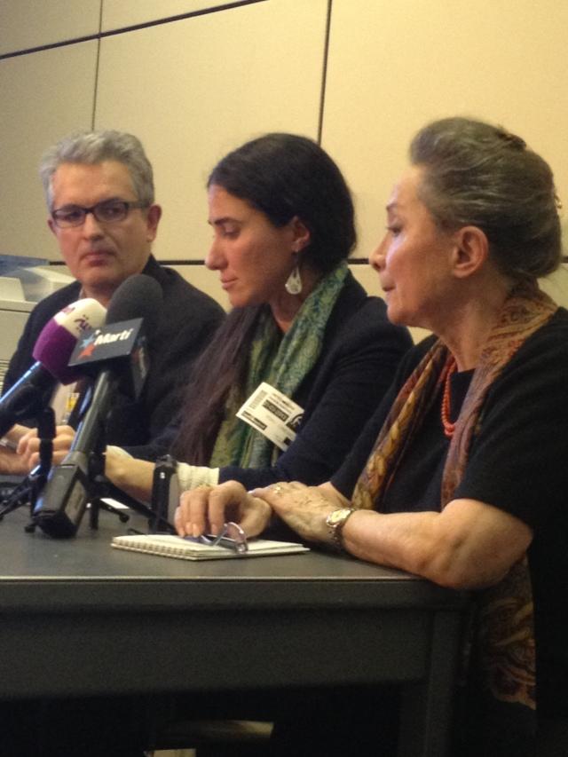 Yoani Sánchez en la ONU