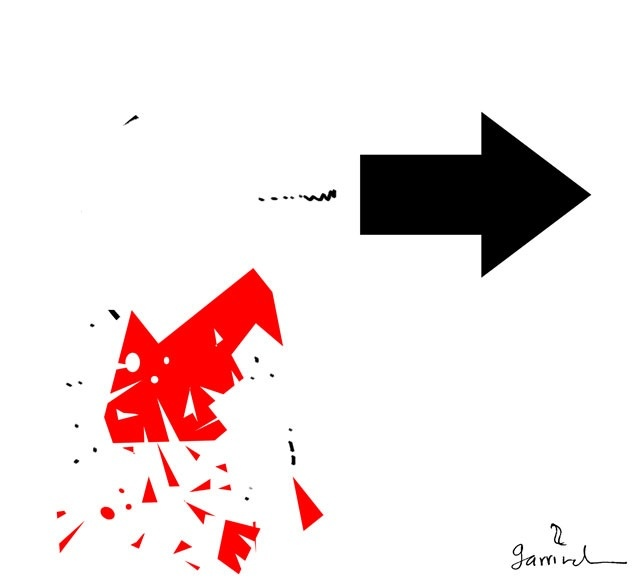 Exilio, por Garrincha